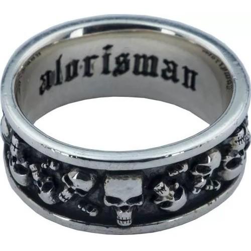 Мужской кольцо с черепами