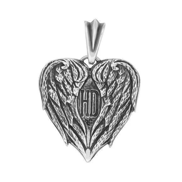 Кулон в виде крыльев ангела