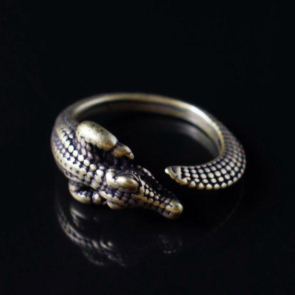 Кольцо Аллигатор