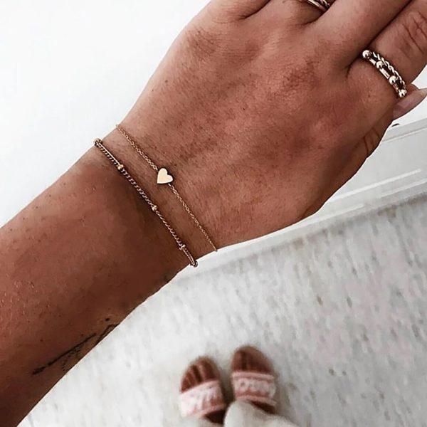 Нежные браслеты на руку