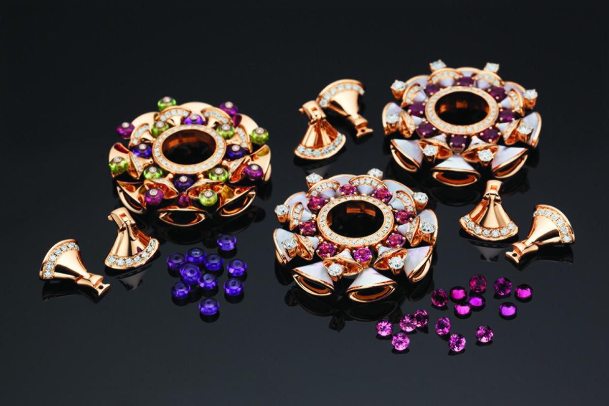 ювелирные украшения с цветами