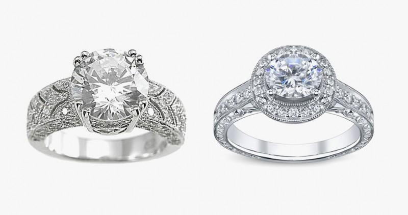 Сравнение бриллианта и фиантита