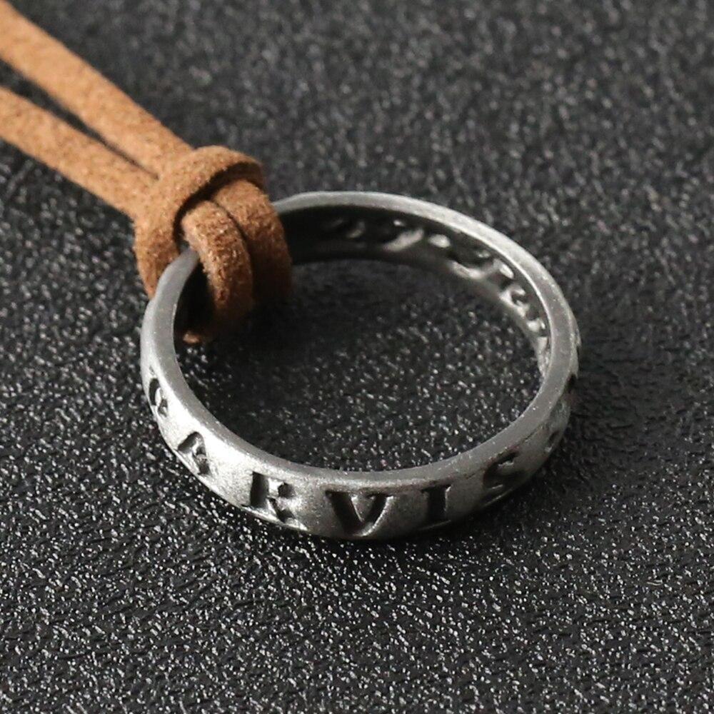 Кольцо-амулет на шею