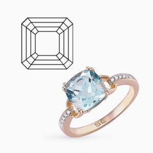 Огранка ювелирных камней Ашер