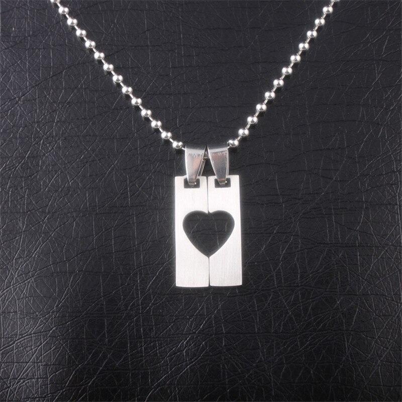 Парный кулон для влюбленных Сердце