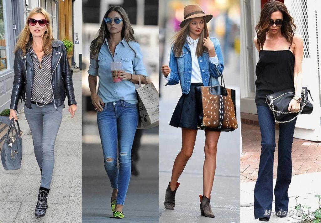 Джинсовый стиль одежды для девушек