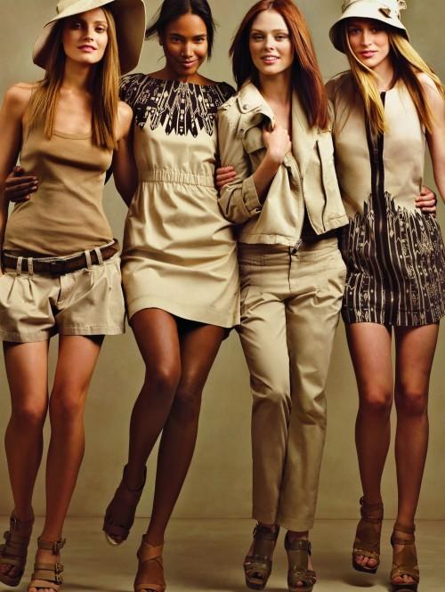 Колониальный стиль одежды