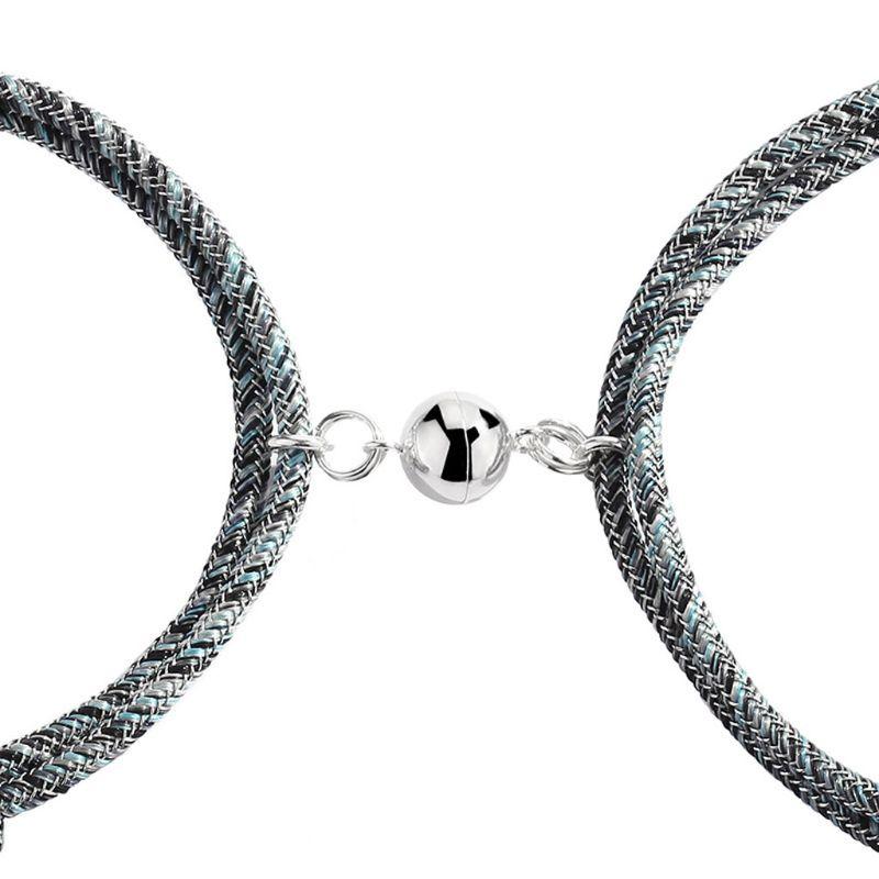 Парный браслет для влюбленных пар