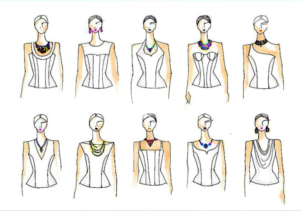 Виды украшений на шею для девушек