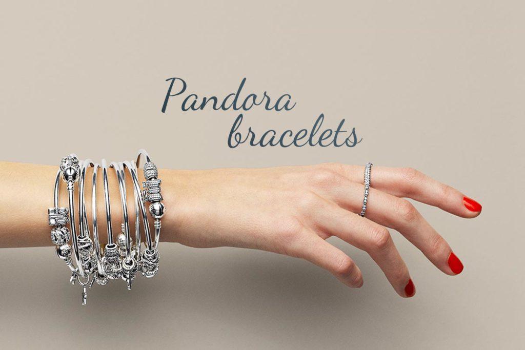 Браслеты на руку бренда Пандора