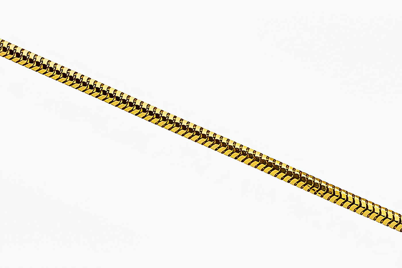 Цепочка с плетением Сней из золота