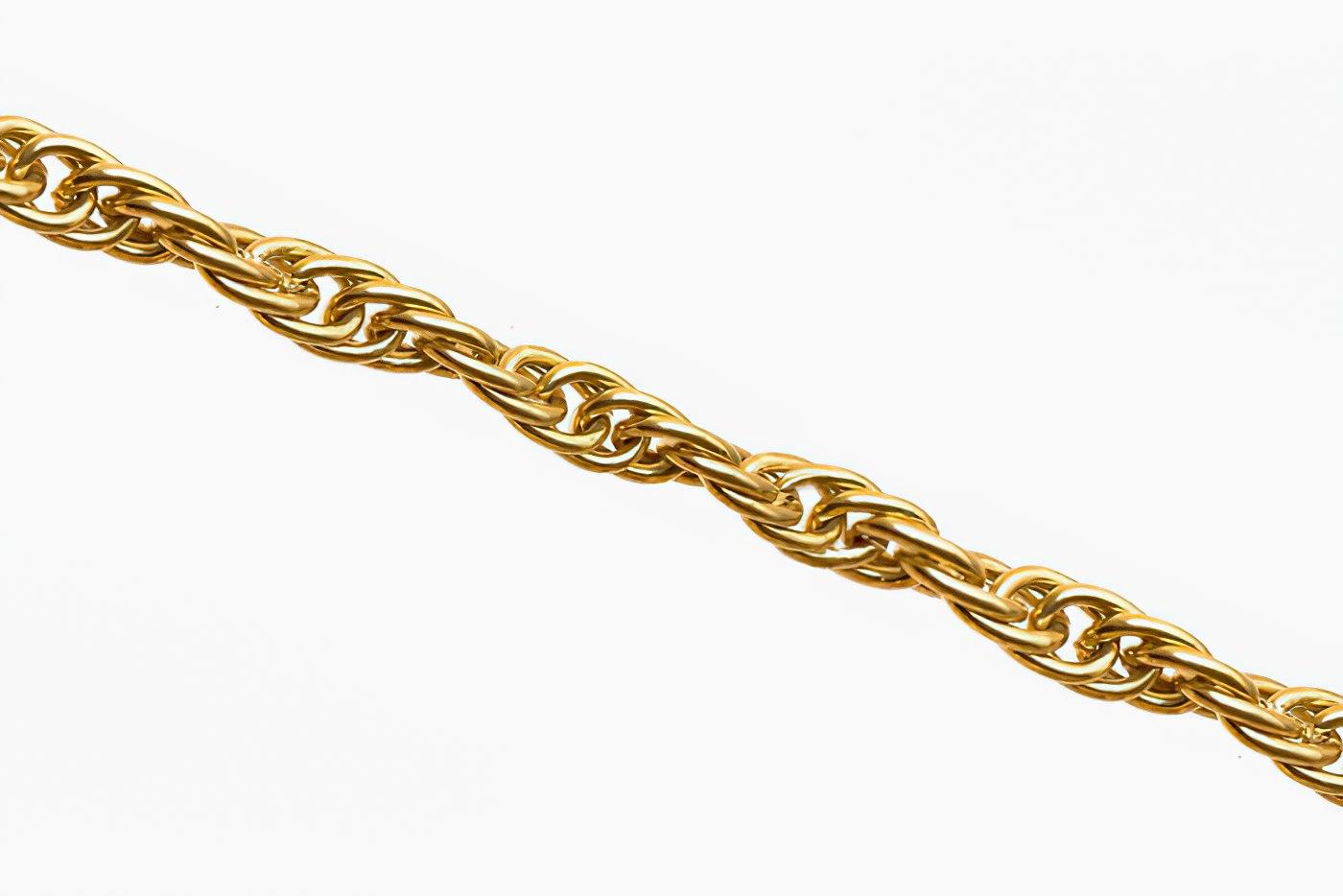 Кордовое плетение цепочки