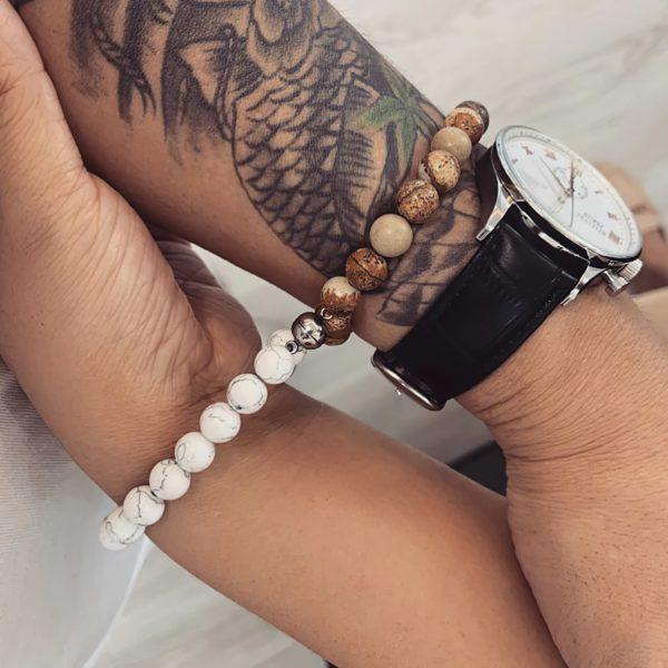 Парные браслеты с магнитами