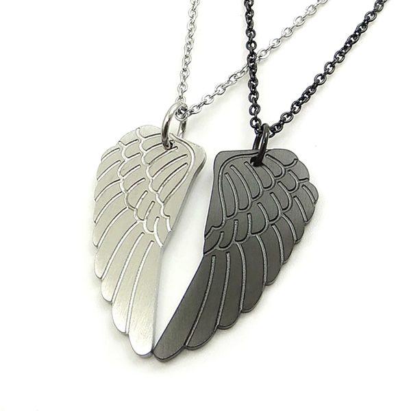 Парные кулоны Два крыла ангела