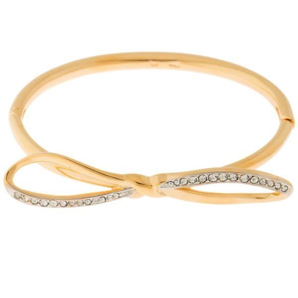 Золотистый женский браслет на руку